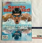 MICHAEL PHELPS SIGNED SPORTS ILLUSTRATED KING OF THE POOL 8 18 08 PSA DNA COA