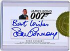Top 10 James Bond Autographed Trading Cards 15