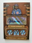 ANDRE DAWSON 2010 Topps Sterling 3 Jersey Relics Auto Autograph #ed 6 of 10