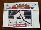 HOFer WILLIE STARGELL 2011 SP Legendary Cuts auto autograph numbered 7 of 12