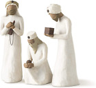 Willow Tree The Three Wisemen Sculpted Hand Painted Nativity Figures 3 Piece S