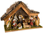 Kurt Adler 12 Inch Nativity Set with Stable and 10 Figures