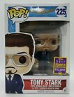 Funko Pop! Spider Man #225 2017 Summer Conv. Tony Stark + Protector DAMAGED BOX