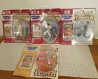 Starting Lineup Cooperstown Collection Lot of 4 Clemente,Ruth Carew, Cleveland