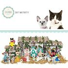 SAVANNASHOPS Cat Nativity Nativity Sets kittens Gifts Cat Lover Gifts