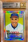 2001 Topps Archives Reserve Autograph Refractor AUTO Bob Feller Rookie BGS 9 8