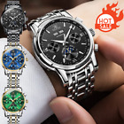 Mechanical Watch Diamond Hollow Stainless Steel Mens T Winner Vintage Design