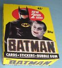 1989 - TOPPS - BATMAN - SERIES TWO - COMPLETE WAX BOX - 36 COUNT - CASE FRESH