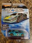 HOT WHEELS SPEED MACHINES FORD GT LM teal 2009 EXTREMELY RARE VHTF