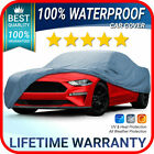 Fits. Ford Mustang Gt Car Cover 100 Waterproof All-weather Customfit