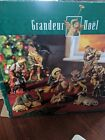 Grandeur Noel 9 Piece Large Porcelain Christmas Nativity Set