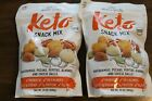 2 Pack- Nature's Garden Keto Snack Mix - 24 oz Each (48 total oz) - Exp. 09/2021