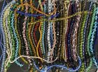 44 Faceted Strands Glass Beads Huge Lot Bulk Wholesale  Gorgeous Beads 58
