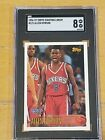 1996 Topps Starting Lineup Allen Iverson RC Rookie SGC 8 POP 1 PSA BGS ?