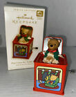 2006 Hallmark Ornament Pop Goes the Teddy Bear, 4th In Jack In The Box Series