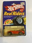 Hot Wheels Vintage Classic Cobra Real Riders Series 2535 NRFP 1982 Red 164