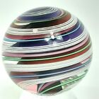 Chatham Glass Huge Marble Multi Color Clear Twist Swirl 2053 5215mm 2001 USA