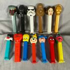 Lot Of 13 Star Wars Spider-man Tweety Sylvester Pez Dispensers Jack In The Box