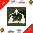 Outdoor Nativity Store Holy Family Outdoor Nativity Set Large White Large