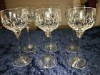 Stuart Crystal Glencoe Hock Wine Glass 7 1 2 set of 6 glasses