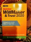 Quicken Willmaker & Trust 2020 Software Estate Planning Mac Windows with CD