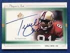 Terrell Owens Rookie Cards and Autographed Memorabilia Guide 31