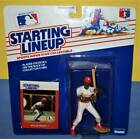 1988 WILLIE MCGEE Saint St Louis Cardinals NM- Rookie *FREE_s/h* Starting Lineup