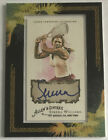 2008 Topps Allen & Ginter Framed Serena Williams Autograph Blue Auto