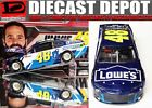 JIMMIE JOHNSON 2018 LOWES FOUNDATION 1 24 ACTION NASCAR DIECAST COLLECTOR