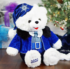 SNOWFLAKE HANUKKAH CHRISTMAS TEDDY BEAR BLUE BOY DATED 2020 LARGE 20