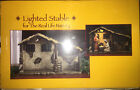 Three Kings Gifts Lighted Stable For 7 Real Life Nativity