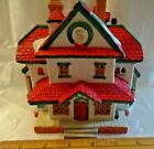 Lemax Village Collection SANTA'S WONDERLAND Lighted Porcelain House #35094 1994
