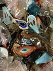 Lot of 50 Murano Style Glass Pendants