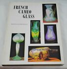 French Cameo Glass Blount Signed 1968 First