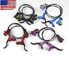 ZOOM MTB Bike Brake lever Bicycle Hydraulic Disc Calipers Brakes Front Rear Set