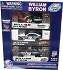 WILLIAM BYRON ROOKIE OF THE YEAR 3 DIECAST SET 1 64 SCALE ACTION