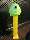 MONSTER UNIVERSITY FOOTED PEZ DISPENSER~GREEN ONE EYED CYCLOPS
