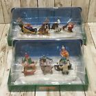 Lot of 2 Lemax Table Accent  #23961 & 33024 Christmas Village