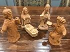 Germany Hand Carved 5 Piece Nativity Set 1994 Approx 5 6 Inch 14 15cm Each