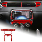 Red Car Air Conditioning Switch Panel Cover Sticker For Camaro 2013 2015