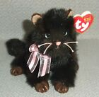 2004 TY Beany Baby BROWN CAT HEIRESS Brown & Pink Kitty Beanie Baby