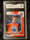 2015 UPPER DECK CONNOR MCDAVID ROOKIE NATIONAL CARD DAY MEMORABLE MOMENTS GMA 10