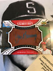 Jim Bunning 2007 signed UD Sweet Spot Classics Auto 75 On Leather autograph SP