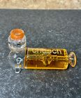 Cheech Glass Glycerine 4 Inch Ribbed Hand Freezable Cooling Tobacco Pipe Orange