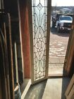 Sg 3213 Antique Beveled and textured glass window 17 x 695