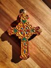 CHRISTOPHER RADKO 1014408 DEVINE DECOR RELIGIOUS CROSS RETIRED ORNAMENT 2009