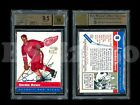 GORDIE HOWE 1998-99 TOPPS BLAST FROM THE PAST AUTOGRAPH BGS 9.5 Gem Mint