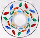 Murano Glass Tree of Life Candy Bowl Hand Painted Italian Glass