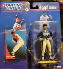 Hideo Nomo1998 Starting Lineup Los Angeles Dodgers. Small bend in corner*WOW*NEW