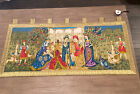 tapestry wall hanging preowned